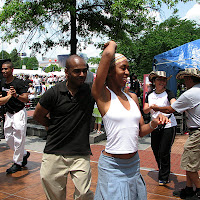 Emarlos Whitfield, Anna McCall. Centennial Olympic Park Atlanta. Fiesta Atlanta.