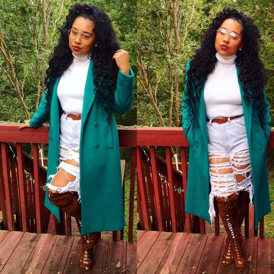THE BEST OUTFIT LOOK FIR AFRICAN WOMEN IN WINTER 7