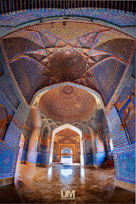 Beautiful Interior of Shah Jahan Mosque Thatta, Sindh.