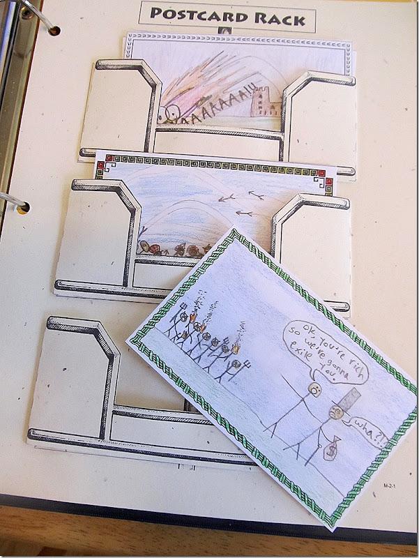 Project Passport Ancient Greece Postcards 1