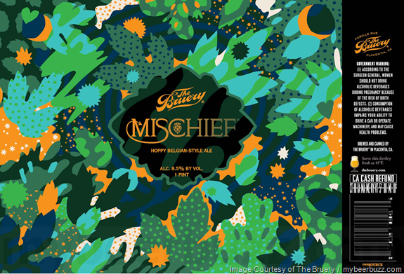The Bruery Adding Mischief 16oz Cans