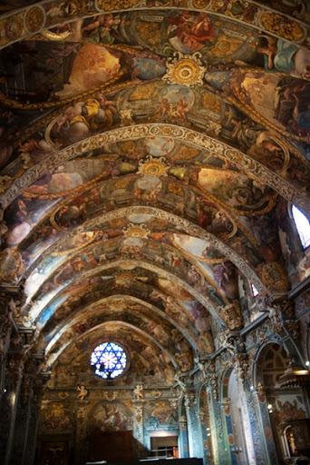 Bóveda de la Iglesia de San Nicolás.