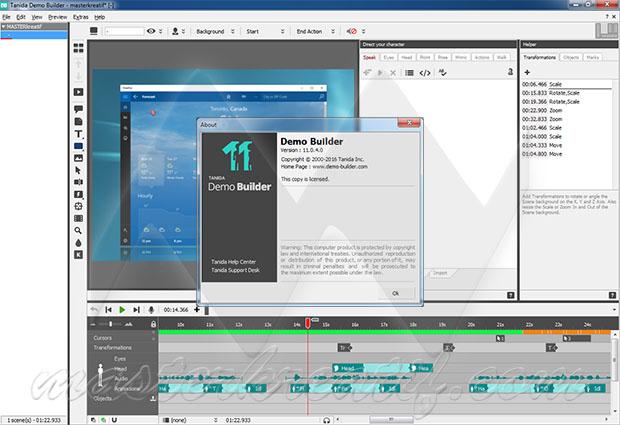 Tanida Demo Builder 11