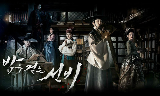 Sinopsis drama Scholar Who Walks the Night (2015) - Drama saeguk romantis