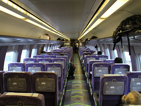 JR西日本 山陽新幹線「こだま741号」500 TYPE EVA 車内 その22