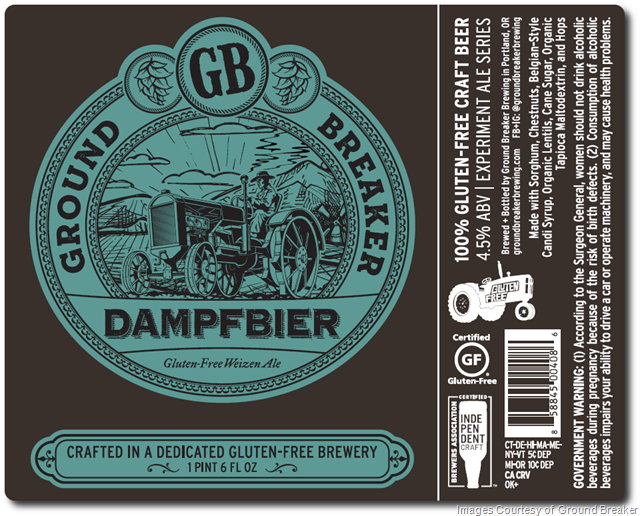 With a Nod to Bavaria, Ground Breaker Brewing Offers Gluten-Free Dampfbier