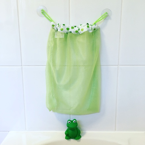 Mommys Helper Froggie Bath tub toy organiser