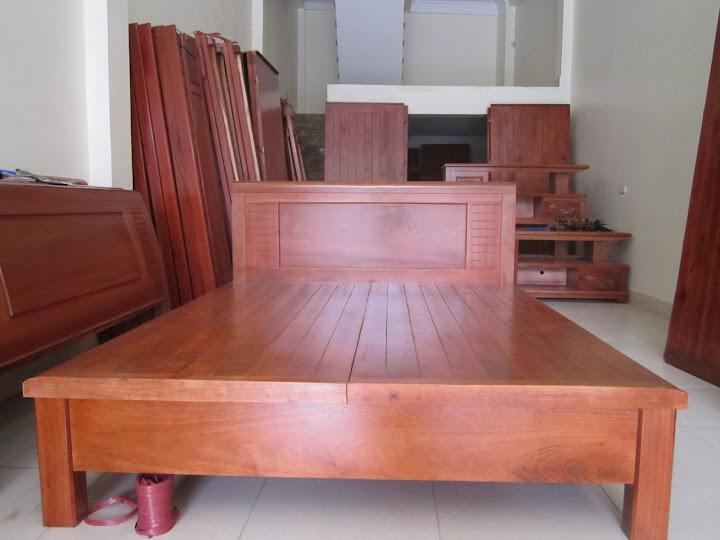 Giường ngủ đẹp bằng gỗ