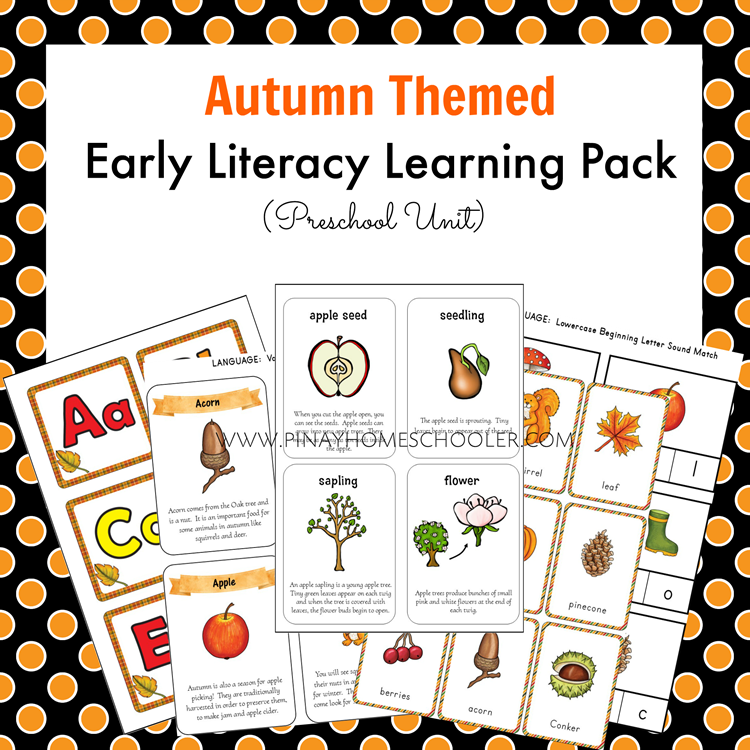 AutumnEarlyLiteracy