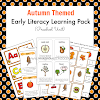 Autumn Themed Early Literacy Learning Pack