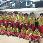 Field Trip to Car Showroom by Playgroup Morning Section at Witty World, Chikoowadi (2018-19)