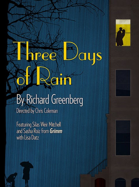 Portland Center Stage production of Three Days of Rain poster