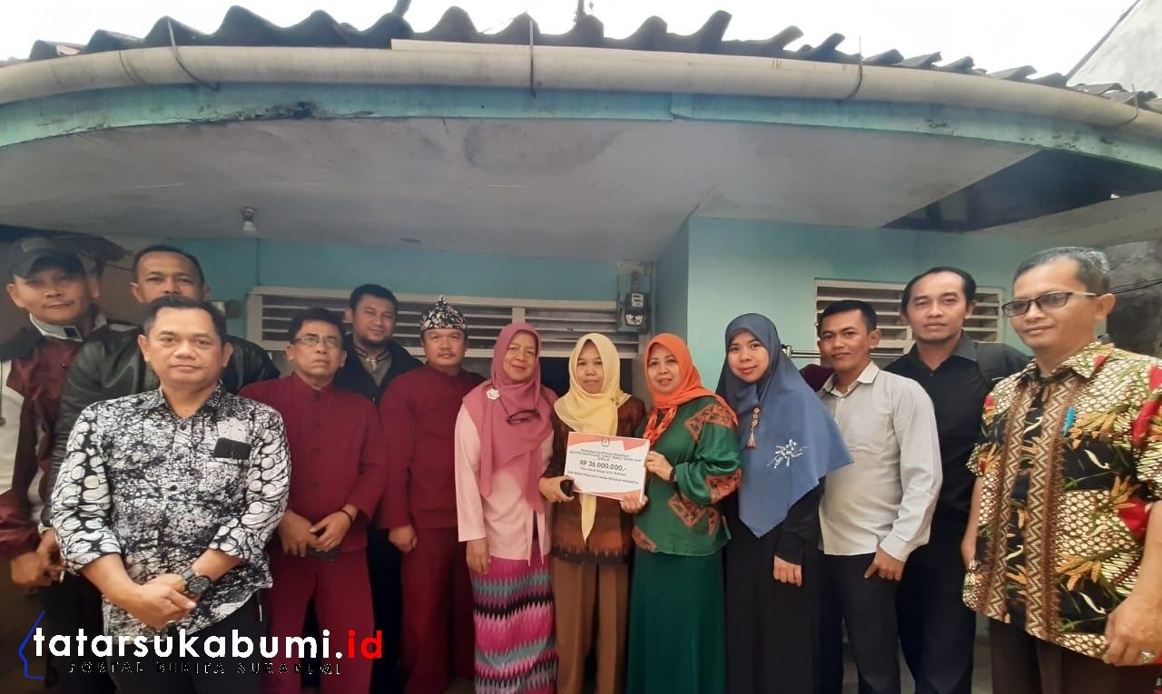 Gugur Dalam Tugas, Petugas Penyelenggara Pemilu 2019 Kota Sukabumi Terima Bantuan Hingga 50 Juta