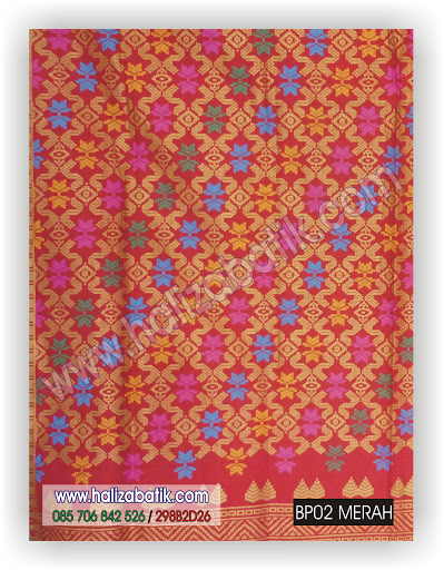 Toko Batik, Gambar Batik, Desain Batik, BP02 MERAH