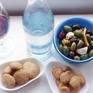 Warm Olives with Rosemary, Garlic and Lemon