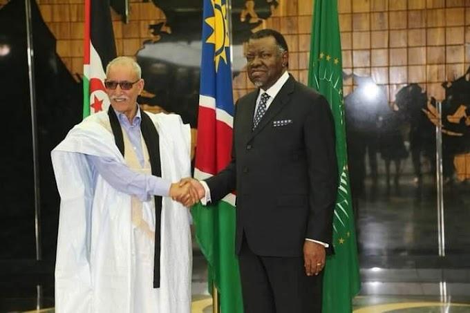 """Presidente Hage Geingob: """"Namibia está comprometida en apoyar el derecho del pueblo saharaui a la autodeterminación y por la independencia del Sáhara Occidental."""""""