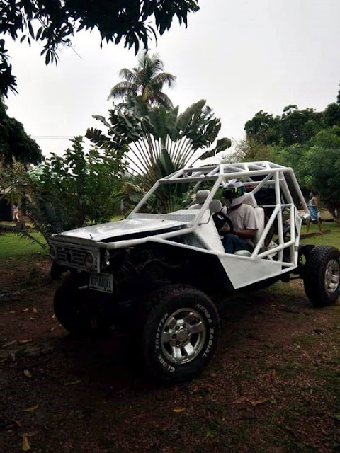 Nigerian Man Builds A Mini Jeep, Calls It Crazy Camel