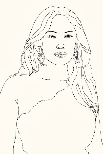Famous Person Coloring Page