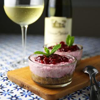 Cranberry Sambuca Mousse.