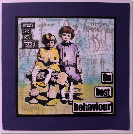 BEST  BEHAVIOUR
