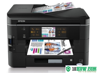 How to Reset Epson BX925 laser printer – Reset flashing lights problem