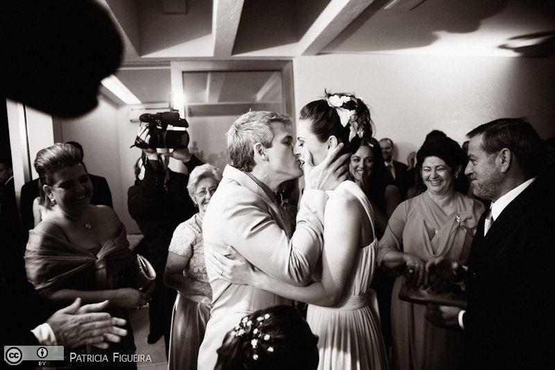 Foto de casamento 0782pb de Karina e Luiz. Marcações: 30/10/2010, Casamento Karina e Luiz, Rio de Janeiro.