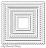MFT Stitched Scallop Square