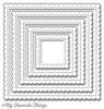 MFT Stitched Scallop Square