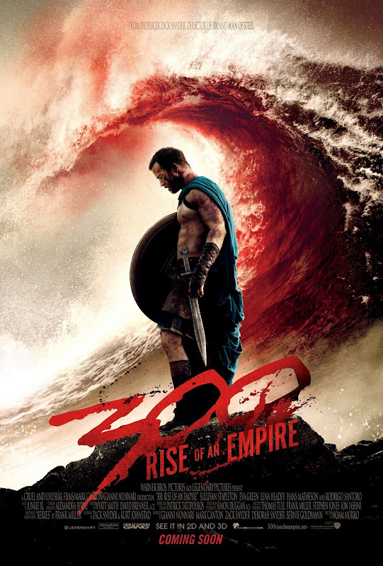 300 RISE OF AN EMPIRE NEW POSTER