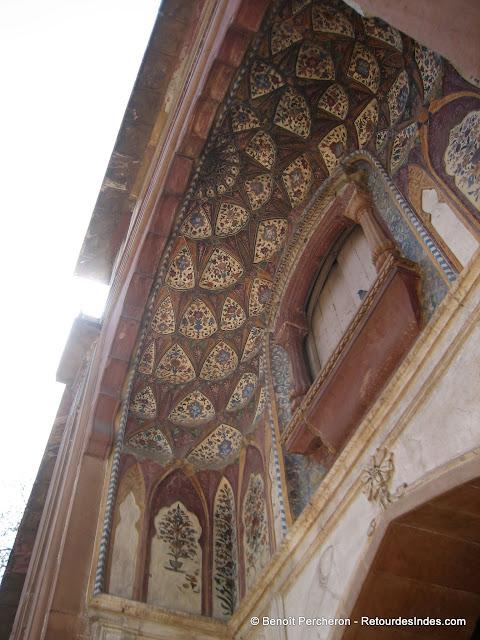 Détail de Sarfdarjung tomb, Delhi