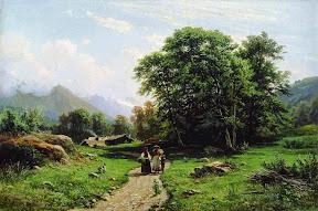 Швейцарский пейзаж.1866 год.jpg