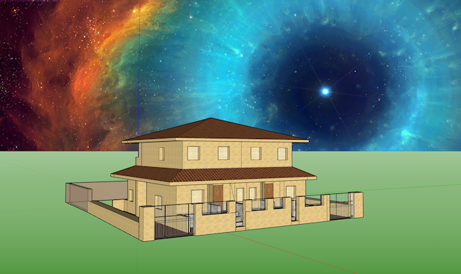 Setting background Sky - SketchUp - SketchUp Community