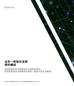 下载完整研究: 业务一致型安全高管的崛起