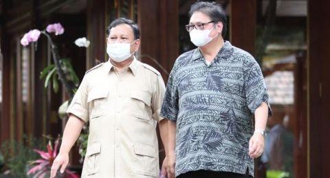 Airlangga Sambangi Prabowo Bangun Koalisi Pilpres 2024, Ini Respon Golkar