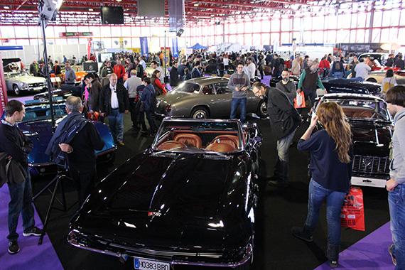 Feria ClassicAuto Madrid 2016. V Salón comercial del vehículo clásico
