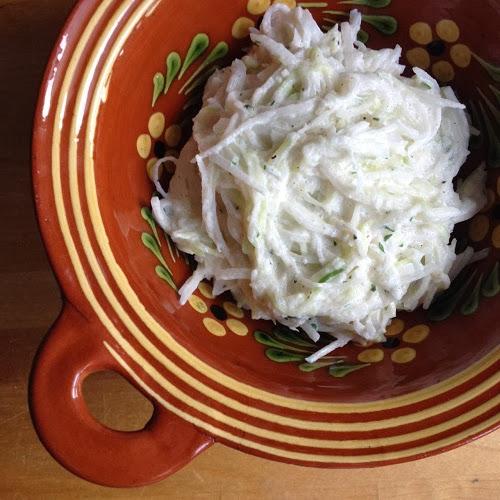 Rettich-Gurken-Salat