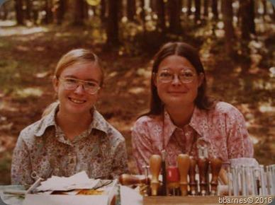 Karen and me camping