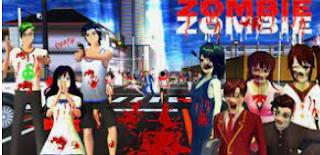 Cara Menjadi Zombie di Sakura School Simulator Gampang Banget