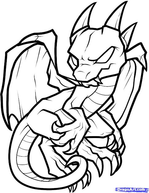 Dragon Coloring Pages  How To Draw An Anthro Baby Dragon Anthro Baby  Dragon