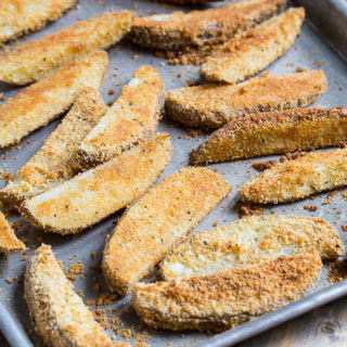 Parmesan Crusted Ranch Potato Wedges
