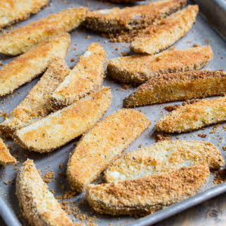 Parmesan Crusted Ranch Potato Wedges.