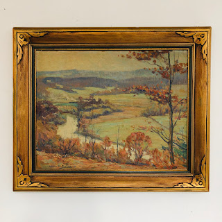 Wilbur L. Oakes Signed Painting