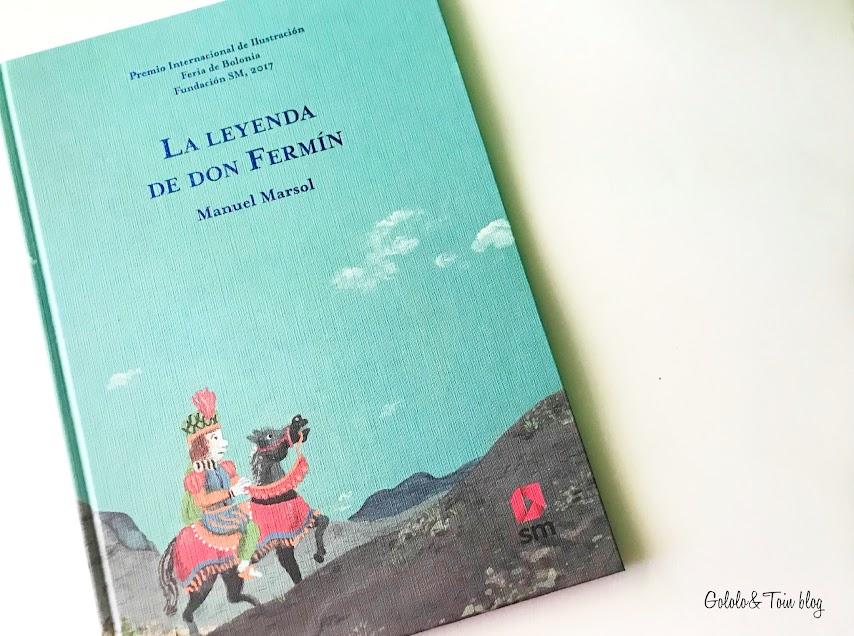 Álbum ilustrado La Leyenda de Don Fermín