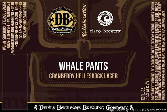 Devils Backbone & Cisco Brewers Collaborate On Whale Pants