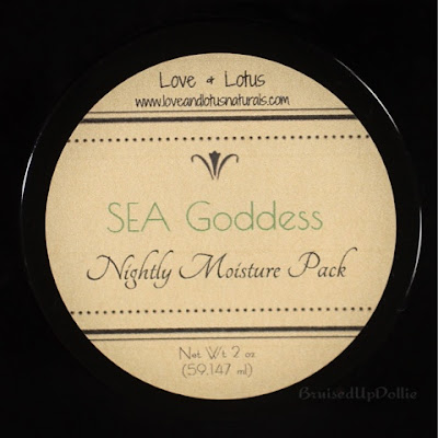 Love & Lotus Nightly moisture pack