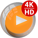 4K Video Player All Format - Cast to TV CnXPlayer icon