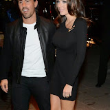 WWW.ENTSIMAGES.COM -  Tamara Ecclestone and Jay Rutland    arriving at        Mondrian London - hotel launch party at Mondrian London October 9th 2014New London hotel, designed by Tom Dixon and owned by Morgans Hotel Group, hosts VIP evening to mark its launch on London's South Bank in the iconic Sea Containers building next to the OXO Tower. The hotel features 359 rooms and suites, a spa, meeting spaces, riverside bar and brasserie.                                                Photo Mobis Photos/OIC 0203 174 1069