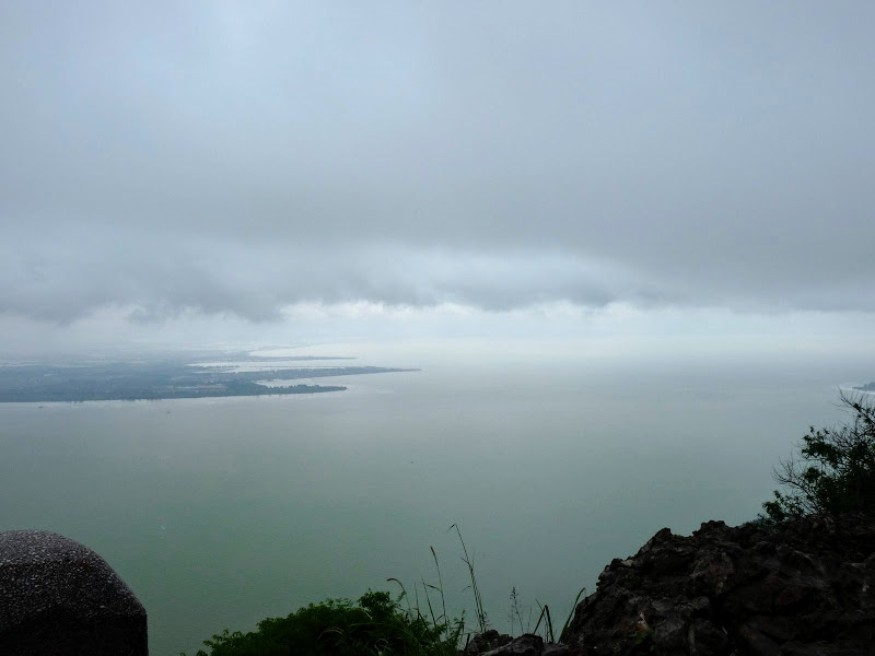 CHINE.YUNNAN.KUNMING , temple Lac Dian Chi - P1270765.JPG