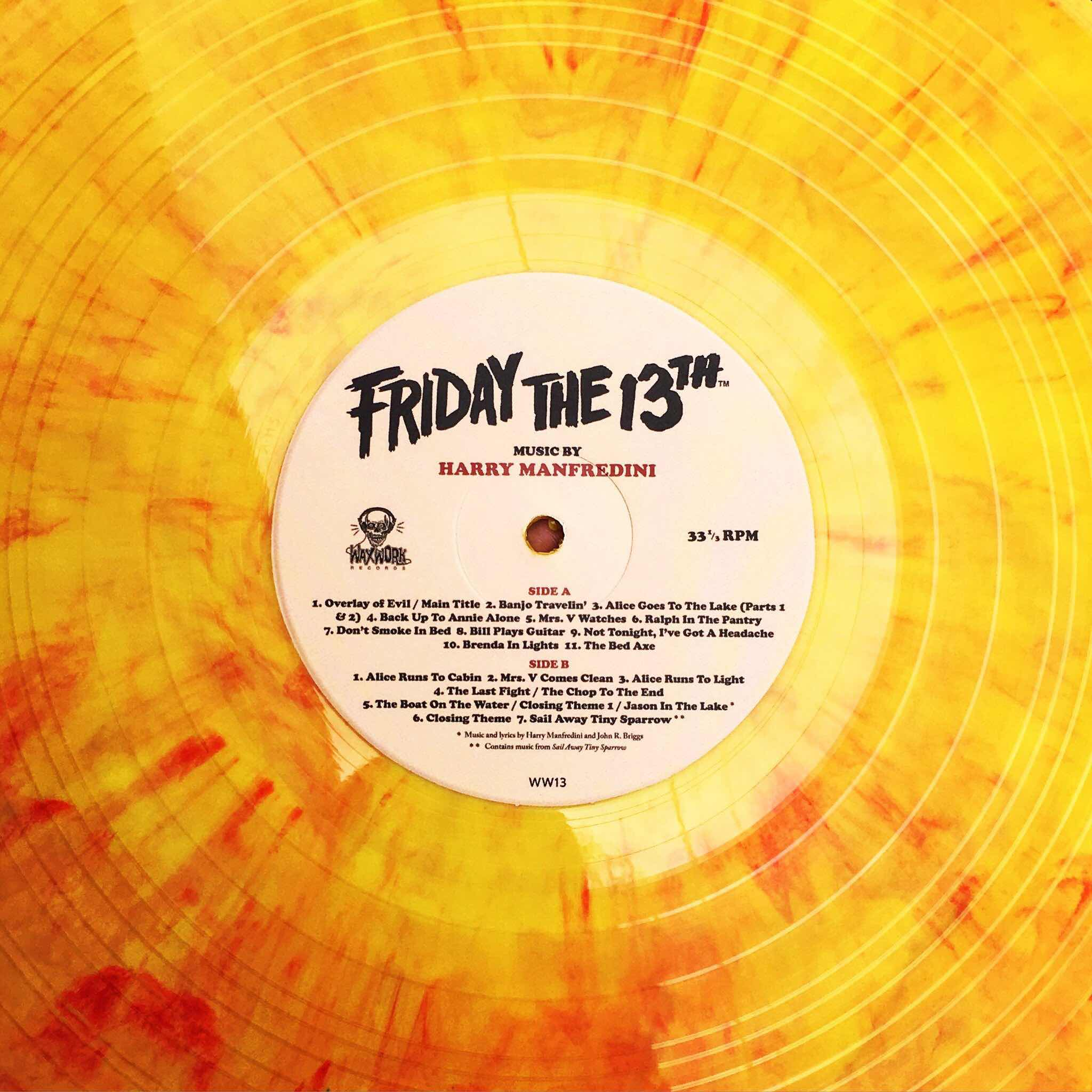 Waxwork Records Teases Re-Release Of Friday The 13th 1980
