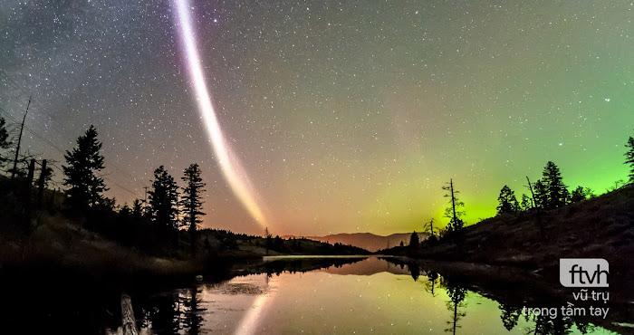 Steve - hiện tượng bí ẩn giống cực quang trên bầu trời